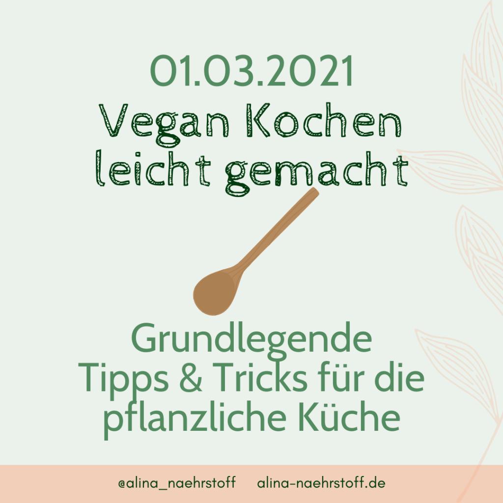 Vegan Kochen leicht gemacht